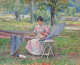 Correspondence by Theodore Robinson This work is in the public domain in the United States, and those countries with a copyright term of life of the author plus 100 years or less.