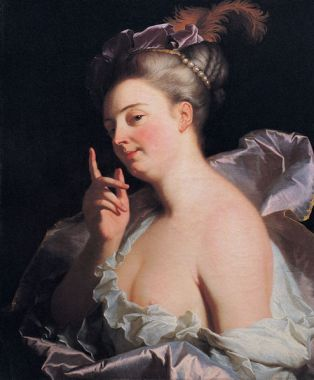 a Menasseuse by Hyacinthe Rigaud another version can be found in Musée Granet (Aix-en-Provence) This work is in the public domain in the United States, and those countries with a copyright term of life of the author plus 100 years or less.
